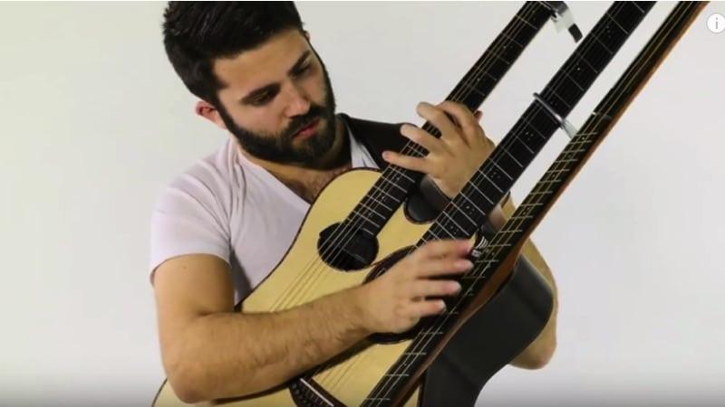 3 Hals Gitarre