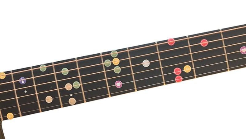 Sticker Griffbrett Gitarre