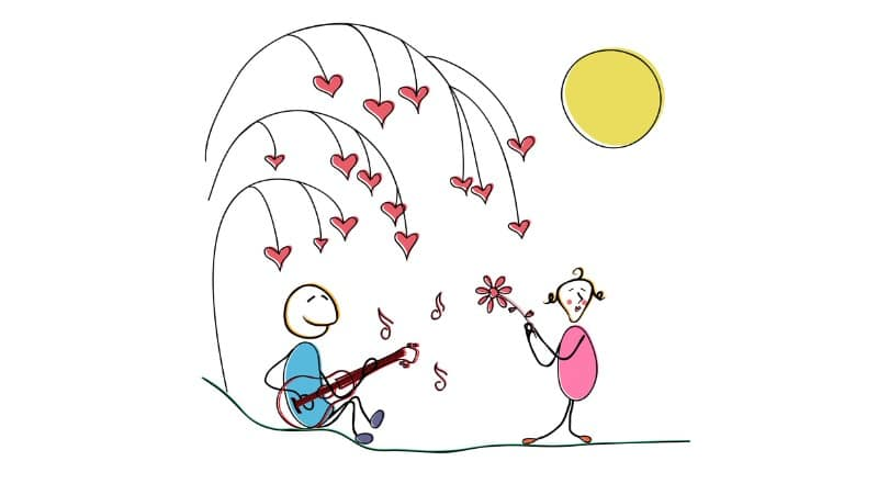 Gitarre Flirt