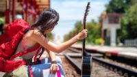 Mit Gitarre verreisen