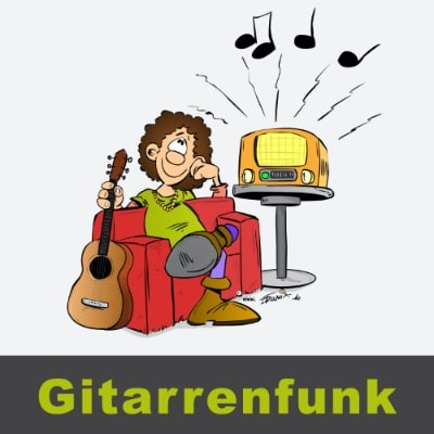 Podcast Gitarre Logo