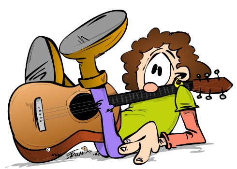 404 - Gitarrist hat Unfall