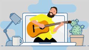Online Gitarre Lernen