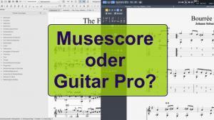 musescore oder guitar pro