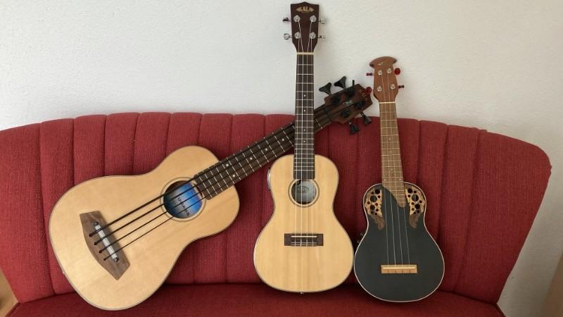 ukulelen