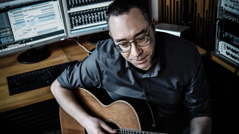 Andreas Schulz im Studio