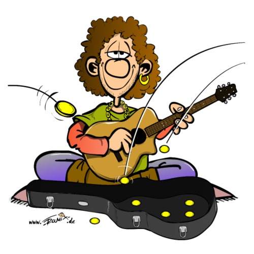 gitarrist strassenmusik