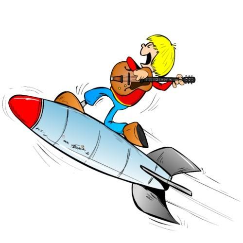 gitarristin rakete