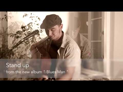 """Stand Up - Christian Luther (from his new album """"Blues Man"""") live"""