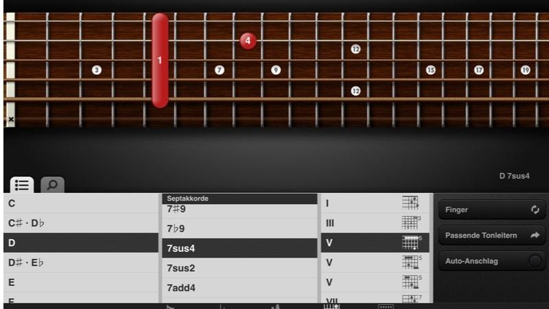Screenshot GuitarToolkit