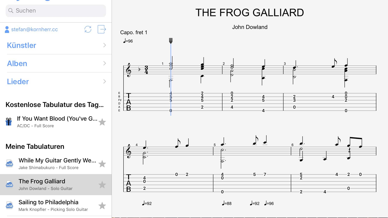 Screenshot GuitarPro