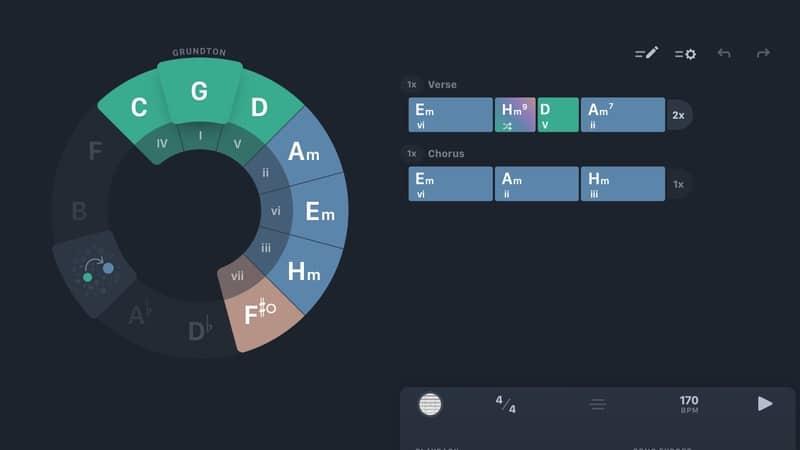 Screenshot Circle of Fifth